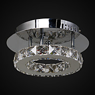 cheap Ceiling Lights-Flush Mount ,  Modern/Contemporary Chrome Feature for Crystal LED Metal Living Room Bedroom Entry Outdoors