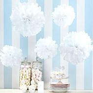 Χαμηλού Κόστους Λουλούδια από Χαρτοπετσέτες-Χριστούγεννα / Halloween / Επέτειος / Γενέθλια / Αποφοίτηση / Χοροεσπερίδα / Πρωτοχρονιά / Μέρα Ευχαριστιών / Baby Shower Χαρτί Περλέ