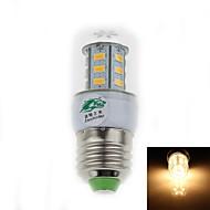 billige Kornpærer med LED-500 lm E26/E27 LED-kornpærer T 24 leds SMD 3528 Dekorativ Varm hvit AC 85-265V