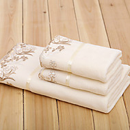 Frisse stijl Badlaken Set,Effen Superieure kwaliteit 100% Microvezels Handdoek