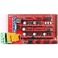 robotale rampaları 1.4 reprap mendelprusa 3d yazıcı kontrol paneli - siyah + kırmızı