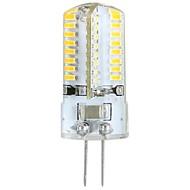 billige Bi-pin lamper med LED-ywxlight® 3w g4 led corn lyser ledet bi-pin lys 64 leds smd 3014 varm hvit 300lm 3000-3500k ac 100-240v