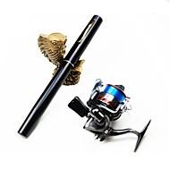 cheap Fishing Rod & Reel Combos-Fishing Rod + Reel Fishing Rod Mini Rod / Pen Rod Pen Rod Carbon Sea Fishing Ice Fishing Freshwater Fishing Lure Fishing Rod & Reel Combos