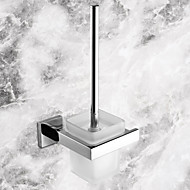 Toilet Brush Holder / Stainless Steel Stainless Steel Ceramic /Contemporary