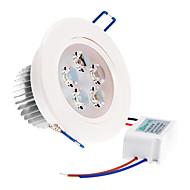 billige Innfelte LED-lys-ZDM® 1pc 5 W 500-550 lm 5 LED perler Høyeffekts-LED Varm hvit / Kjølig hvit / Naturlig hvit 85-265 V / 1 stk. / RoHs