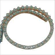 pvc-48 centímetros carking ™ flexível impermeável faixa de luz led para carros / motos-2pcs