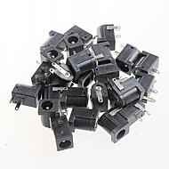 vrouwelijke dc power jack netvoeding, DC-005, 5.5-2.1mm socket (20st)
