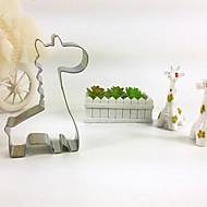 giraf cookie cutter metal dyr kiks brød skimmel rustfrit stål diy bagning værktøjer