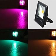 tanie Naświetlacze-1 Diody LED LED wysokiej mocy 1 Pilot zdalnego sterowania 24 klucze RGB Wodoodporny / Dekoracyjna 100-240 V 1 zestaw