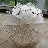 "billiga Brudparaplyer-Posthandtag Material Bröllop / Dagligen / Maskerad Paraply Paraplyer 30.7""(ca. 78cm)"