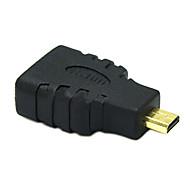 sensecheering 0,1m 0.328ft micro HDMI Mand til HDMI kvindelige hdmi v1.4 stik