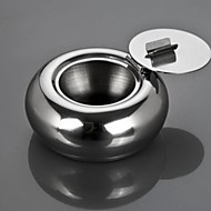 New High Quality Polished Portable Stainless Steel Cigarette Ashtray Ash Container
