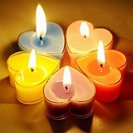 Χαμηλού Κόστους Κεριά & Κηροπήγια-ρομαντική σε σχήμα καρδιάς διακόσμηση κεριών διακόσμηση διακοπών γάμου