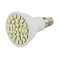 E14 2w 30 smd 5050 150-200 lm varm hvit / kul hvit dekorativ led spotlight dc 12 v