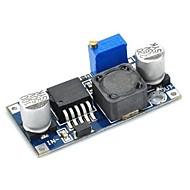 lm2596s 20083 justerbar forsyningsspænding regulering / reduktion modul - blå + sort