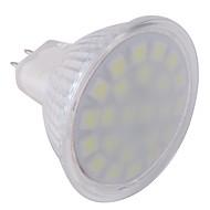 ywxlight® gu5.3 (mr16) projector principal mr16 24 leds smd 5050 frio branco 360lm 6000-6500k ac 220-240v