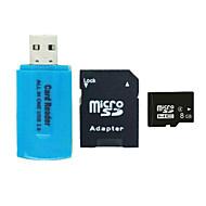8GB マイクロSDカードTFカード メモリカード CLASS4