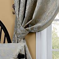 billige Gardiner ogdraperinger-Skreddersydd Værelses Bemørkning gardiner gardiner To paneler 2*(W183cm×L213cm) / Stue