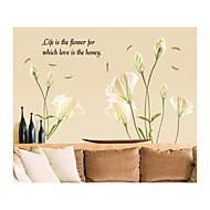 Botanický motiv Vánoce Komiks květiny Krajina Samolepky na zeď Samolepky na stěnu Ozdobné samolepky na zeď,Vinyl Home dekorace Lepicí