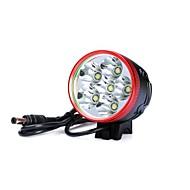 3 ヘッドランプ 自転車用ライト ヘッドライト LED 7200lm lm 3 モード Cree XM-L T6 Cree XM-L U2 耐衝撃性 充電式 防水 ナイトビジョン のために キャンプ/ハイキング/ケイビング 日常使用 警察/軍隊 サイクリング 狩猟 旅行
