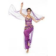 Devemos roupas de dança da barriga Vestido de treinamento de desempenho feminino