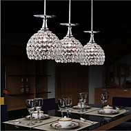 cheap Island Lights-Pendant Light ,  Modern/Contemporary Globe Electroplated Feature for LED CrystalDining Room Kitchen Study Room/Office Kids Room Game Room