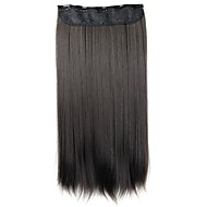 Human Hair Extensions Classic Hair Extension Clip In / On Black Daily