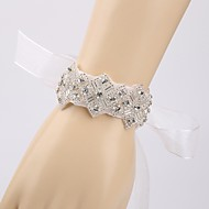 """cheap Flowers-Wedding Flowers Wrist Corsages Wedding Tulle 0.39""""(Approx.1cm)"""