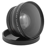 0.45x 52mm Wide Angle Lens+Macro Camera Lens For Canon/Nikon/Sony/Fujifilm/Panasonic/Olympus