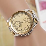 yoonheel Mulheres Relógio de Moda Quartzo suíço Designer Metal Banda Prata Dourado Branco Preto