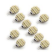 G4 LED Bi-pin Lights 24 SMD 3528 500-700 lm Warm White Cold White 2700-3500/6000-6500 K AC 12 V
