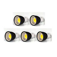 billige Spotlys med LED-380lm GU10 LED-spotpærer MR16 1 LED perler COB Mulighet for demping Varm hvit / Kjølig hvit / Naturlig hvit 110-130V / 220-240V