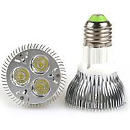E26/E27 Lâmpada PAR PAR20 3 LED de Alta Potência 480-640 lm Branco Quente Branco Frio K AC 100-240 V
