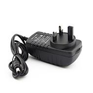 billige Sikkerhetsutstyr-YanSe® Strømforsyning 12V2A United Kingdom Standard 3 feet transformer til Sikkerhet Systemer 10*7cm 0.1kg