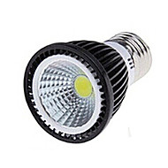 abordables Spots LED-5W 250-300 lm E26/E27 Spot LED 1 diodes électroluminescentes COB Blanc Chaud Blanc Froid AC 85-265V