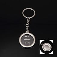 preiswerte Kundenspezifische-Schlüsselanhänger Geschenke Edelstahl Kristall Artikel-Stück / Set