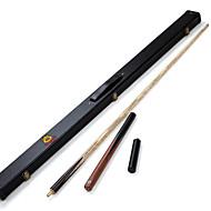 3/4 Jointed Handmade ash snooker/Pool Cue O'min Enlightenment billiard cue+Cue Case