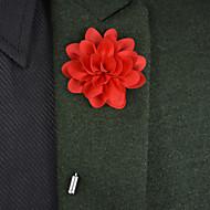 """Χαμηλού Κόστους Λουλούδια-Λουλούδια Γάμου Μπουτονιέρες / Μοναδική γαμήλια διακόσμηση Ειδική Περίσταση Σατέν / Μεταλλικό 3,15 """" (περ.8εκ)"""