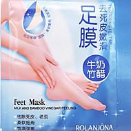 Peeling ayak maskesi yüksek verim ölü deri manikür sökücü scholl sosu ayak spa ürünleri 1pair