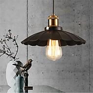 jedinečný černý deštník vinobraní lustr z tepaného železa vysoké kvality