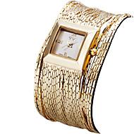 billige Quartz-ASJ Dame Armbåndsur Japansk Quartz 30 m Vandafvisende Bånd Analog Vintage Afslappet Mode Sølv / Guld / Rose Guld - Guld Sølv Rose Guld Et år Batteri Levetid / Rustfrit stål / SSUO SR626SW