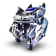 ieftine Roboți, monștri și jucării spațiale-7 In 1 Robot Jucării Încărcate Solar Jucarii Alimentat solar Reîncărcabil ABS Bucăți Cadou