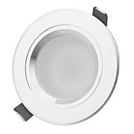 baratos Luzes LED de Encaixe-450-550 lm Downlight de LED 5 leds LED de Alta Potência Decorativa Branco Quente Branco Natural AC 85-265V