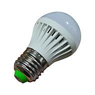 billige Globepærer med LED-1.5 W 2800-3200/6000-6500 lm E26/E27 LED-globepærer 10 leds SMD 2835 Varm hvit Kjølig hvit AC 220-240V