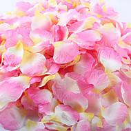100 stk kunstig rosenblad for dekorasjon fest bryllup rød hvit gul