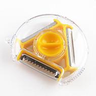 1 τμχ Αποφλοιωτή & τρίφτης For για Φρούτα / για λαχανικών ΠλαστικόΠολυλειτουργία / Υψηλή ποιότητα / Δημιουργική Κουζίνα Gadget /