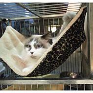 Χαμηλού Κόστους Γάτα Κρεβάτια & Αντικείμενα μεταφοράς-Γάτα Κρεβάτια Κατοικίδια Κουβέρτες Λεοπάρ Πτυσσόμενο Moale Λεοπαρδαλί Για κατοικίδια