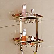 シャワーバスケット 浴室小物 / クロム コンテンポラリー