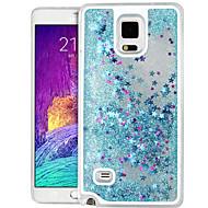 korkealaatuinen quicksand tähti kimallus pc kova kotelo Samsung Galaxy huomautus 4