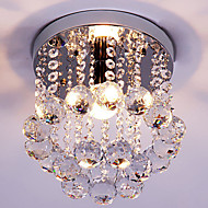 cheap Ceiling Lights-Modern/Contemporary Traditional/Classic Retro Lantern Country Island Globe Crystal Mini Style Flush Mount Ambient Light For Living Room